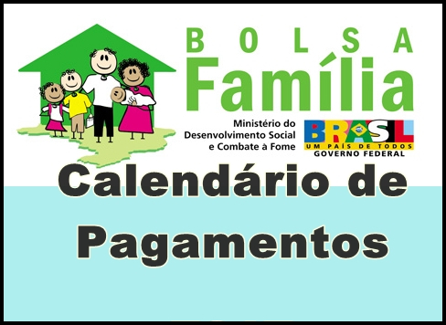 Calendário Bolsa Família 2014