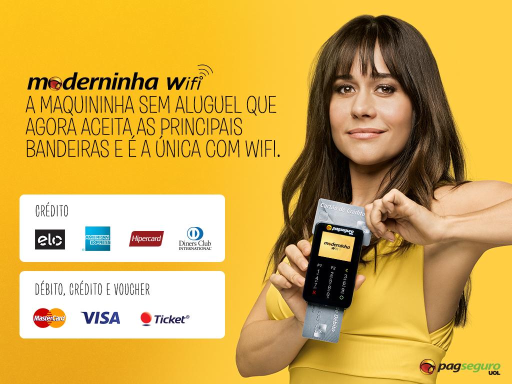 Moderninha Wifi PagSeguro
