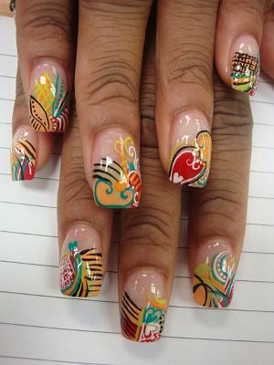 Fotos Unhas Decoradas 2015